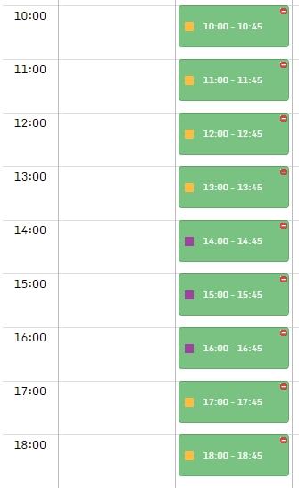 Kalendarz dla wielu miejsc